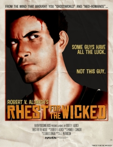 RHEST FOR THE WICKED - Cover